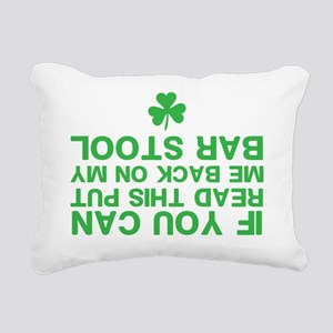 Funny St. Patricks Day Rectangular Canvas Pillow